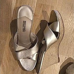 Sze 12 Shoes Michael Kors Wedges Barefoot Tess Lot